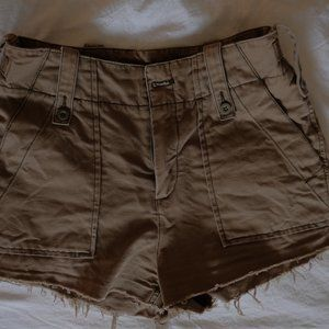 Free People - Army Green Shorts